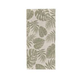 Teppich Cottage wool/ jungle green 67x130cm