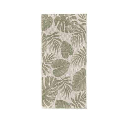 Teppich Cottage wool/ jungle green 67x130cm Teppiche - Dekoria.de