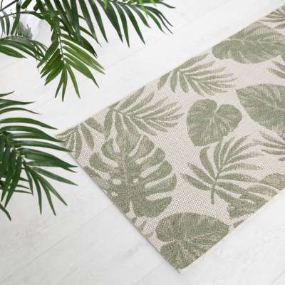 Dywan Cottage wool/ jungle green 67x130cm