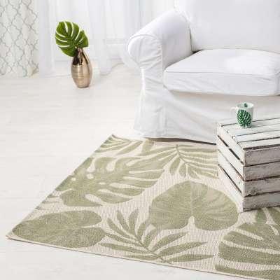TRENDY koberec Cottage wool/ jungle green 120x170cm