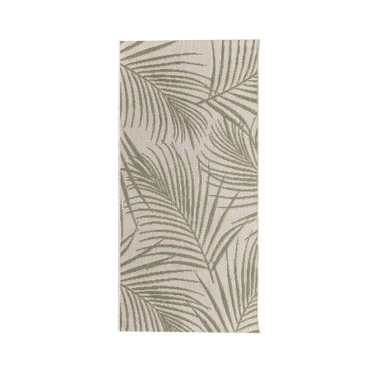 TRENDY koberec  Cottage II wool/ jungle green 67x130cm