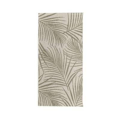 TRENDY koberec  Cottage II wool/ jungle green 67x130cm Koberce - Dekoria-home.cz