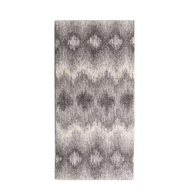 Teppich Sevilla Aspen silver/grey 67x130cm Teppiche - Dekoria.de