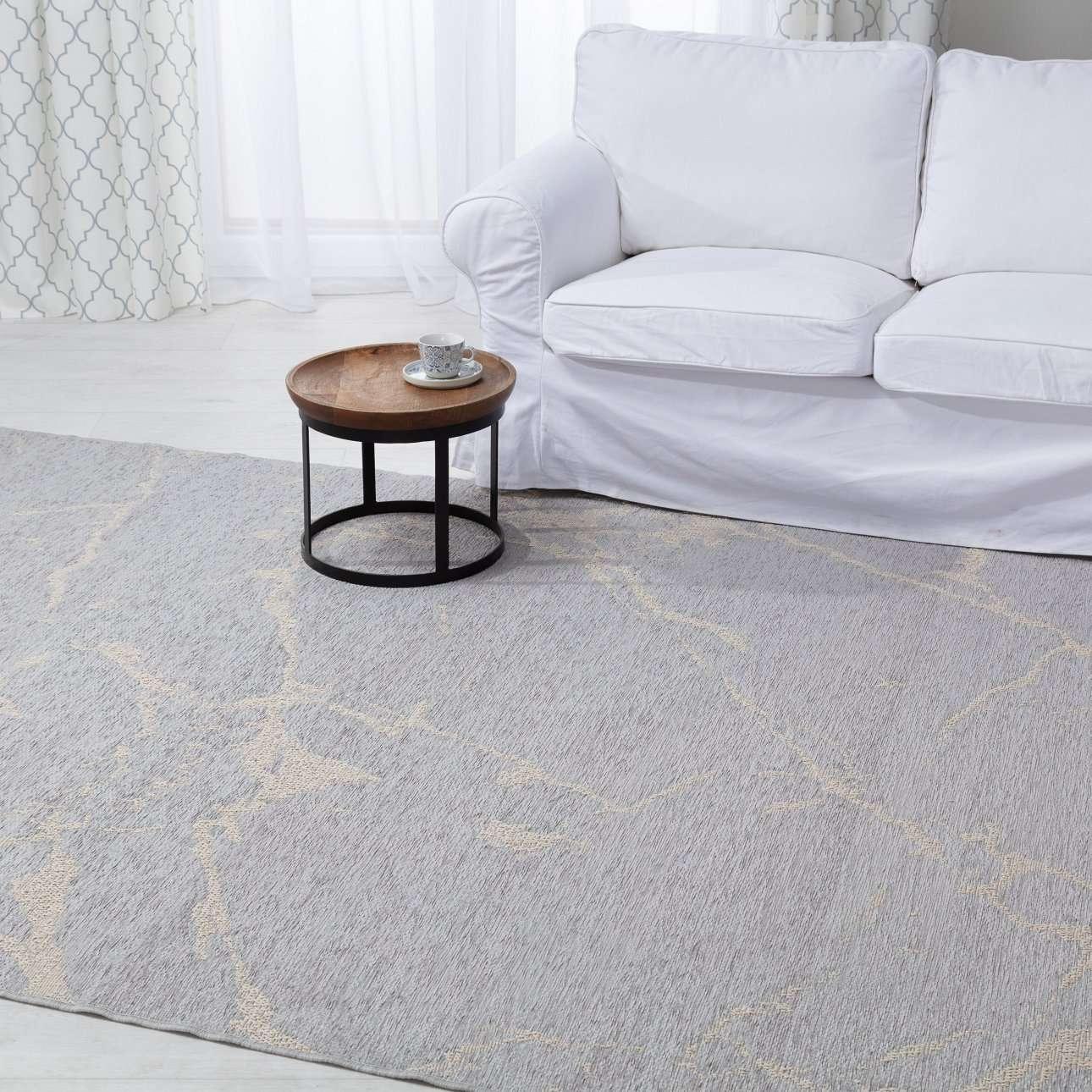 Teppich Velvet wool/grey 200x290cm