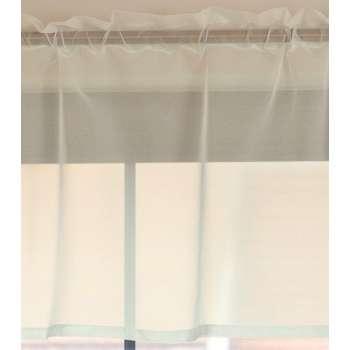Lambrekin woalowy na metry wys.50 cm + 2,5 cm grzywka wys.50 cm + 2,5 cm grzywka w kolekcji Woale, tkanina: 900-01