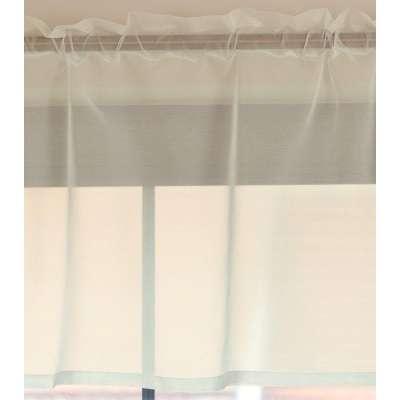 Lambrekin woalowy na metry wys.50 cm + 2,5 cm grzywka w kolekcji Woale, tkanina: 900-01