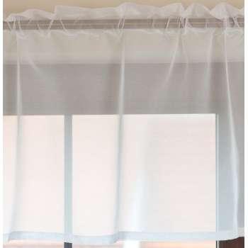 Lambrekin woalowy na metry wys.50 cm + 2,5 cm grzywka w kolekcji Woale, tkanina: 900-00
