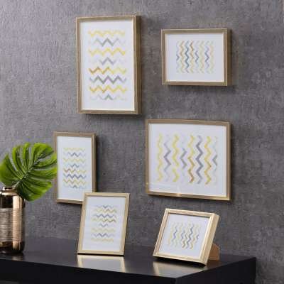 Nuotraukų rėmelis Simple Gold Bold 30x40cm Rėmeliai nuotraukoms - Dekoria.lt