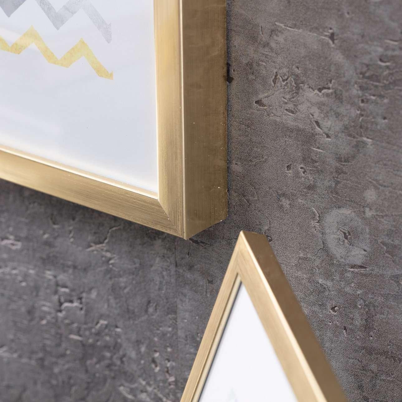 Ramka Simple Gold Bold 30x40cm
