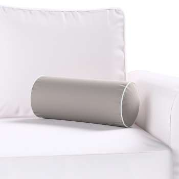 Velvety bolster with piping