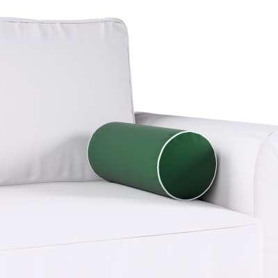 Poduszka wałek prosty z lamówką w kolekcji Velvet, tkanina: 704-13