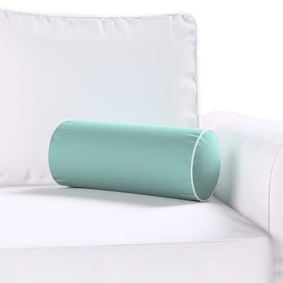 Velvety bolster with piping 704-18 dusty mint green Collection Velvet