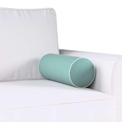 Poduszka wałek prosty z lamówką w kolekcji Velvet, tkanina: 704-18