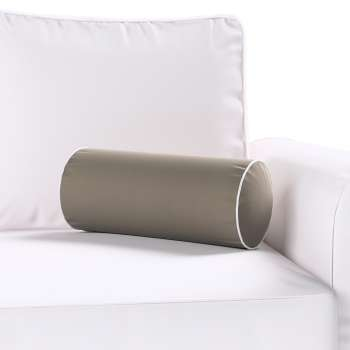 Velvety bolster with piping in collection Velvet, fabric: 704-19