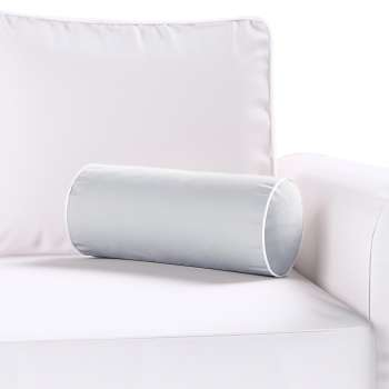 Velvety bolster with piping in collection Velvet, fabric: 704-24