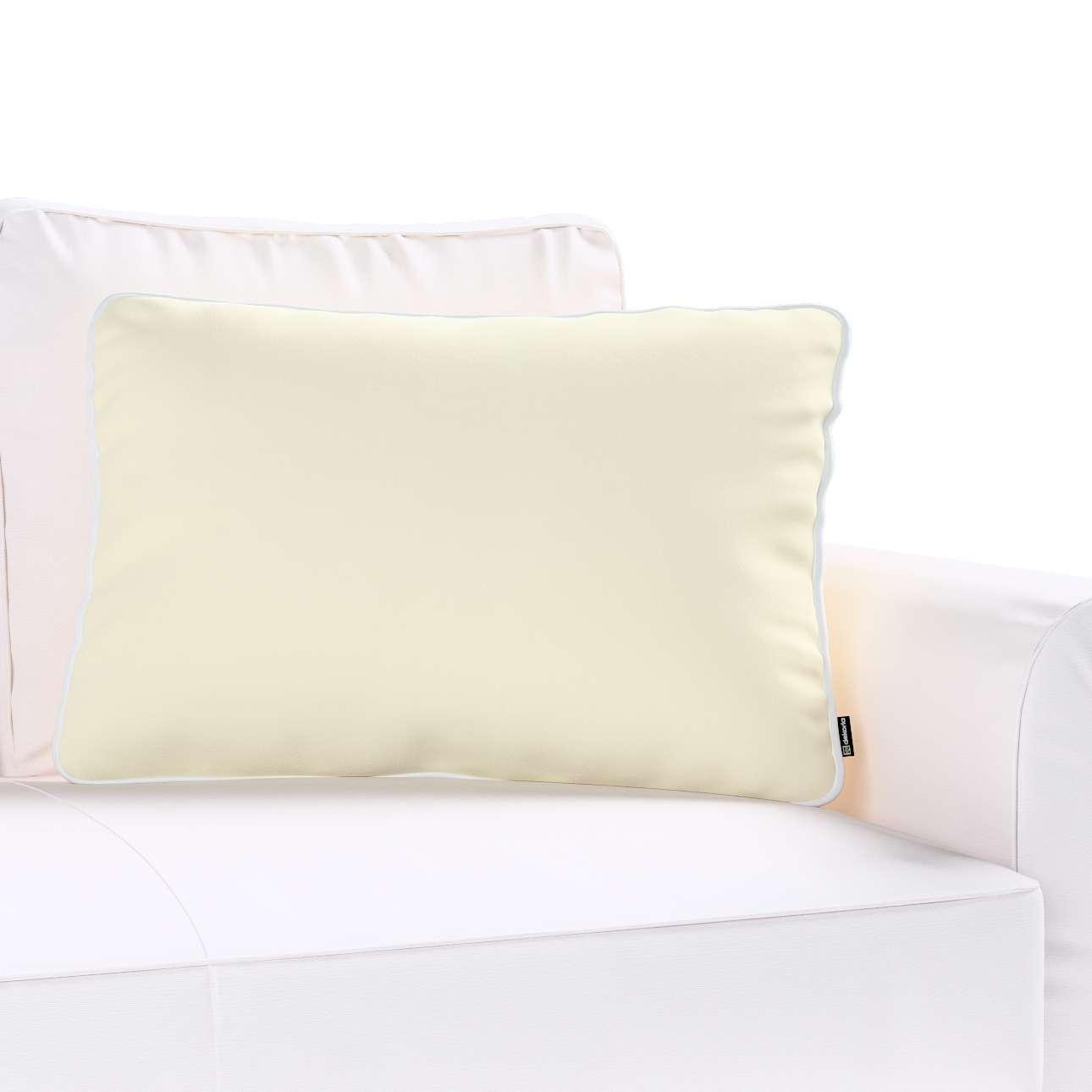 Poszewka Laura na poduszkę prostokątna 60 × 40 cm w kolekcji Velvet, tkanina: 704-10