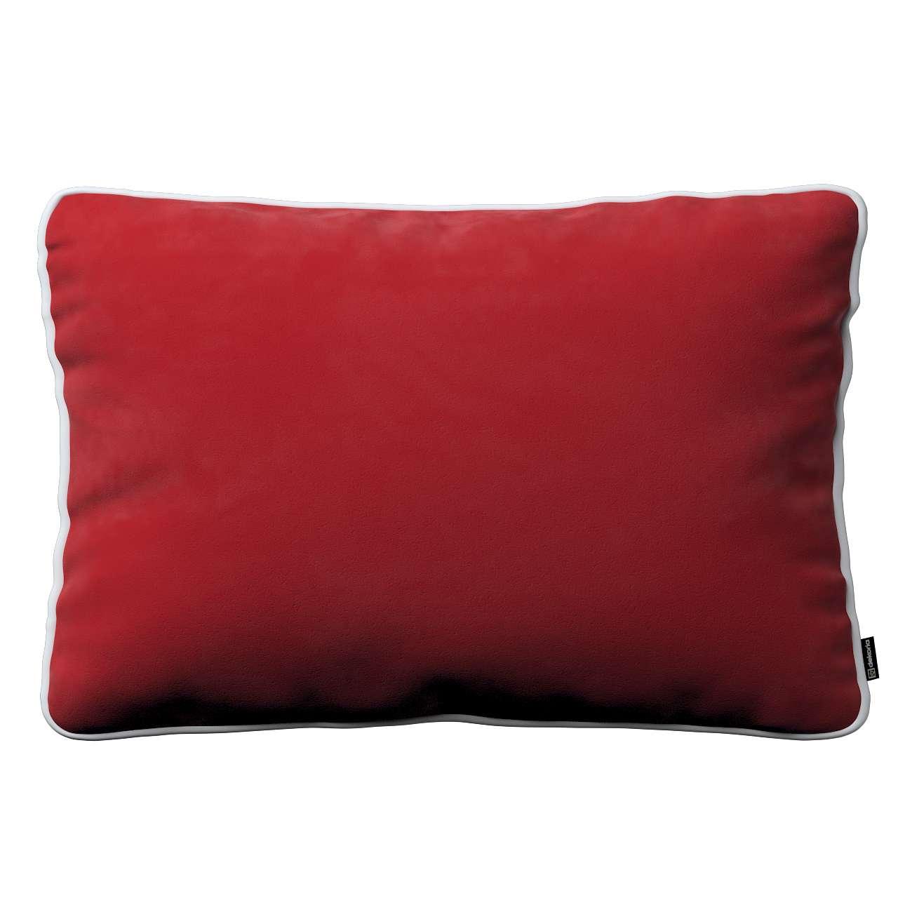Poszewka Laura na poduszkę prostokątna 60 × 40 cm w kolekcji Velvet, tkanina: 704-15