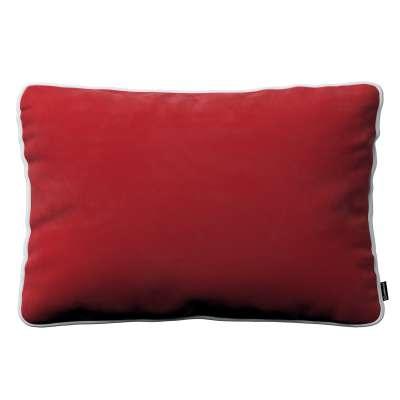 Dekoratyvinės pagalvėlės užvalkalas Laura 704-15 Raudona Kolekcija Velvetas/Aksomas