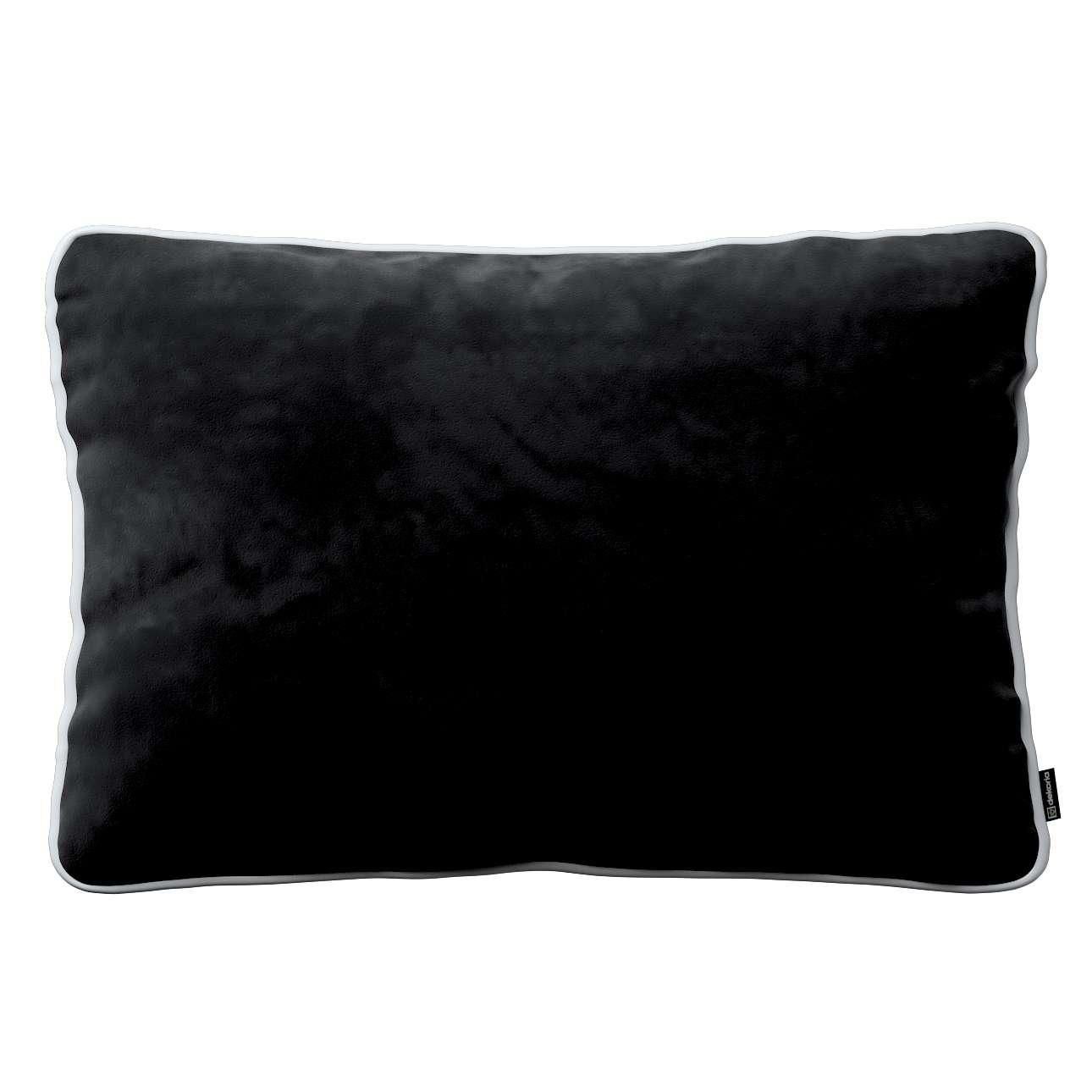 Poszewka Laura na poduszkę prostokątna 60 × 40 cm w kolekcji Velvet, tkanina: 704-17