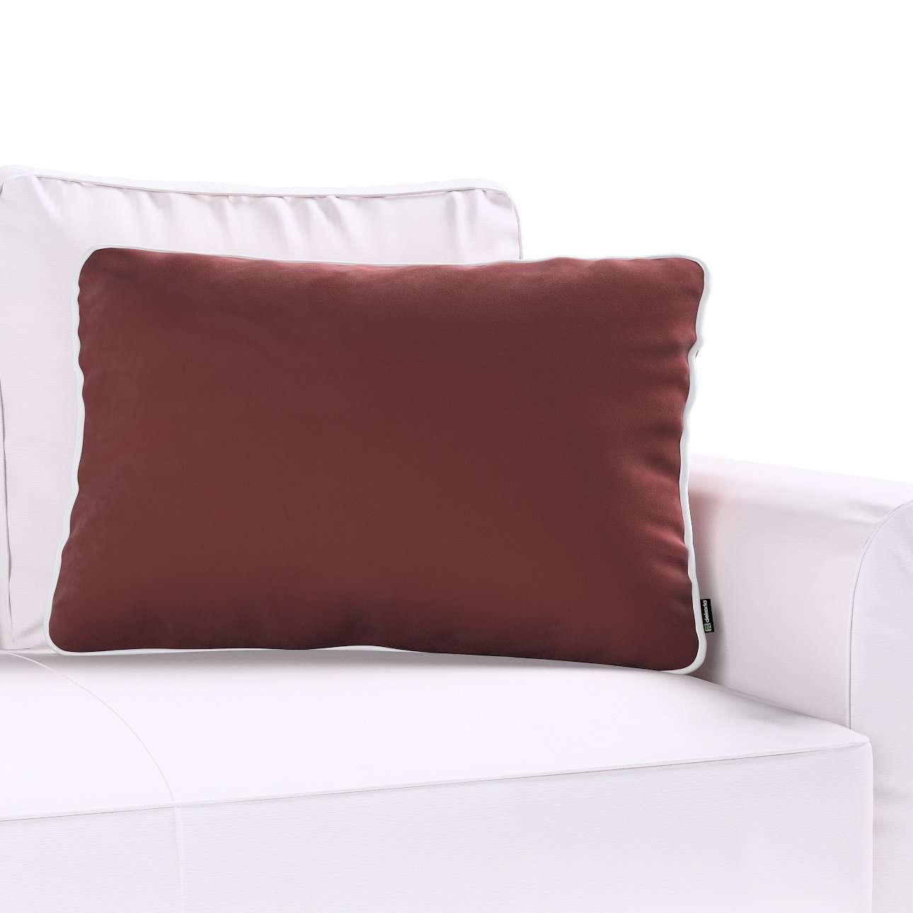 Poszewka Laura na poduszkę prostokątna 60 × 40 cm w kolekcji Velvet, tkanina: 704-26