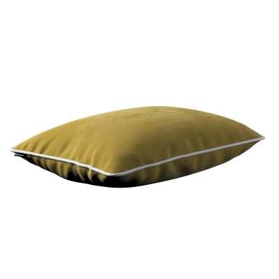 Kissenhülle Laura 40 x 60 cm 704-27 olivegrün Kollektion Velvet