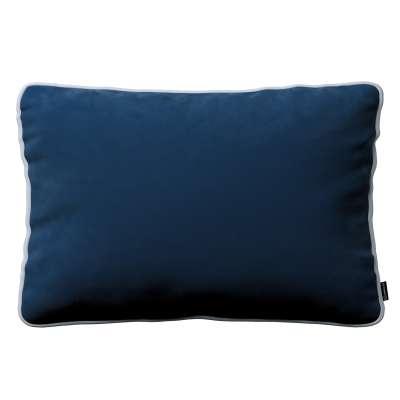 Kissenhülle Laura 40 x 60 cm 704-29 dunkelblau Kollektion Velvet
