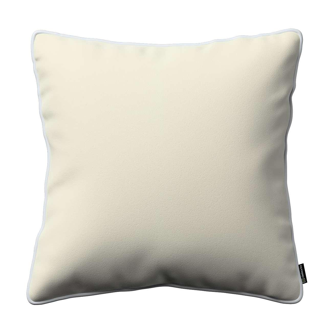 Poszewka Laura na poduszkę w kolekcji Velvet, tkanina: 704-10