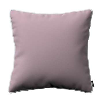 Laura square velvet cushion cover with piping 704-14 Collection Velvet