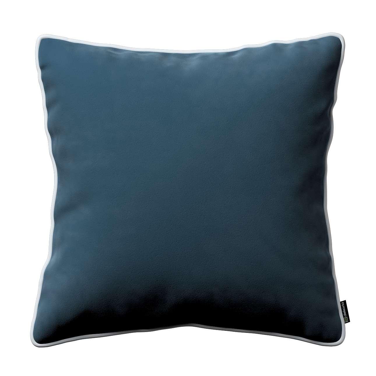 Poszewka Laura na poduszkę w kolekcji Velvet, tkanina: 704-16