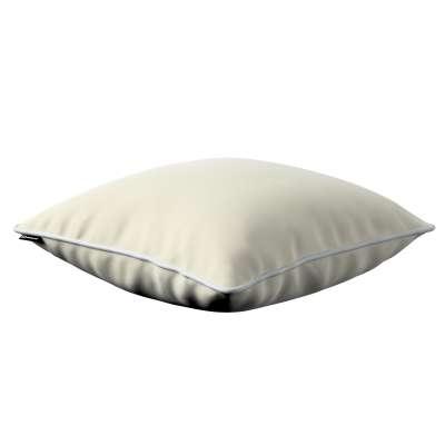 Bella velvet pagalvėlės užvalkalas 704-10 kreminė balta Kolekcija Posh Velvet