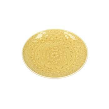 Talerz Yellow Amber 20cm