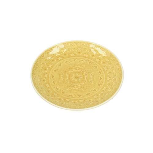 Talíř dezertní Yellow Amber 20cm