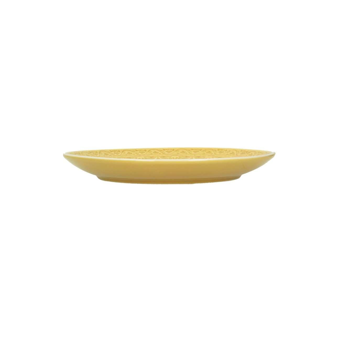 Teller Yellow Amber 20cm
