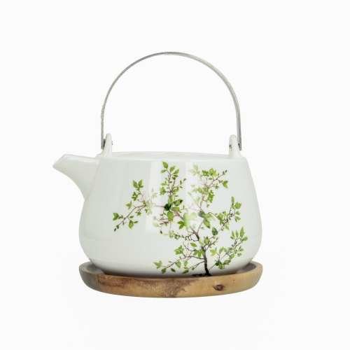 Čajník s dřevěnou podložkou Natura 750ml