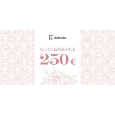 Geschenkgutschein 250€ Geschenkgutscheine - Dekoria.de