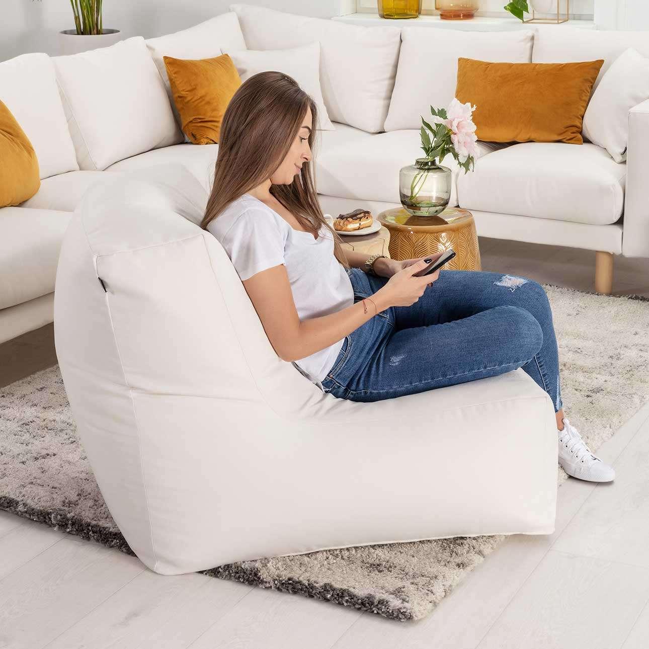 Sėdmaišis- fotelis  kolekcijoje Etna, audinys: 705-00