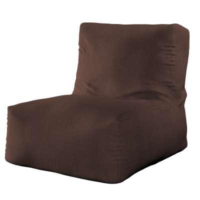 Sėdmaišis- fotelis  702-18 šokoladinės spalvos šenilinis audinys Kolekcija Chenille