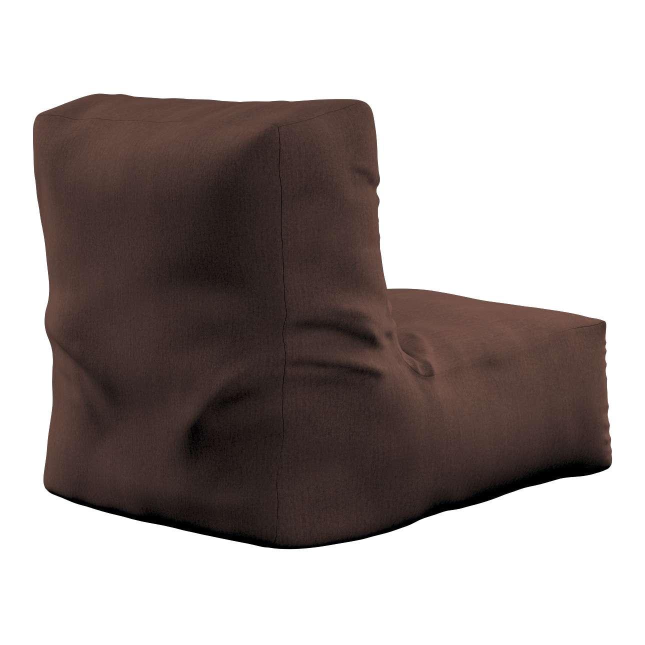 Pufa- fotel w kolekcji Chenille, tkanina: 702-18