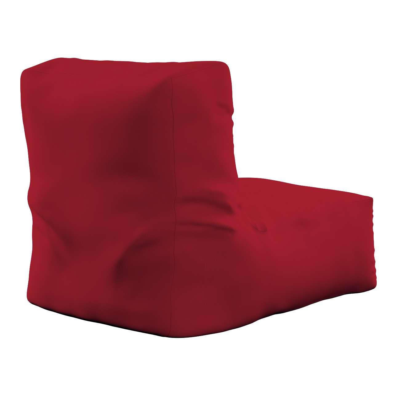 Pufa- fotel w kolekcji Chenille, tkanina: 702-24