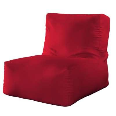 Sedací vak v tvare kresla - jednofarebný 705-60 červená Kolekcia Etna