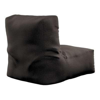 Sedací vak v tvare kresla - jednofarebný 702-36 Silno hnedá a béžová Kolekcia Etna