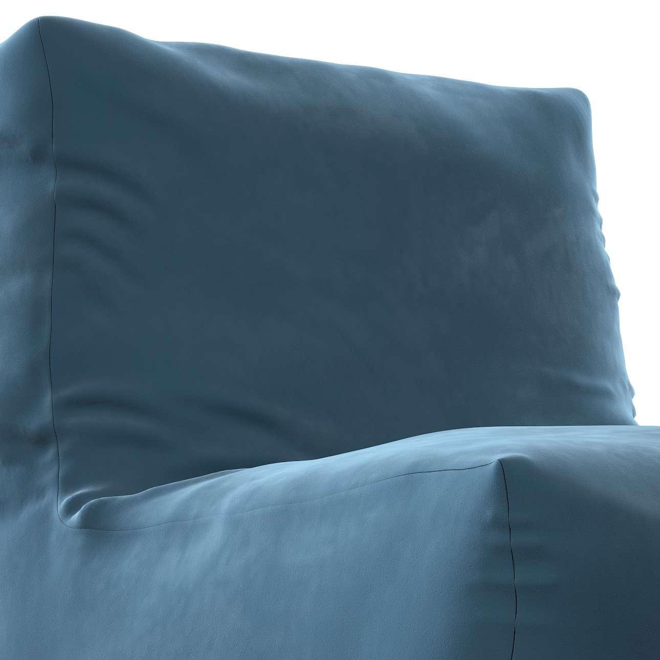 Sedací vak v tvare kresla - jednofarebný V kolekcii Velvet, tkanina: 704-16