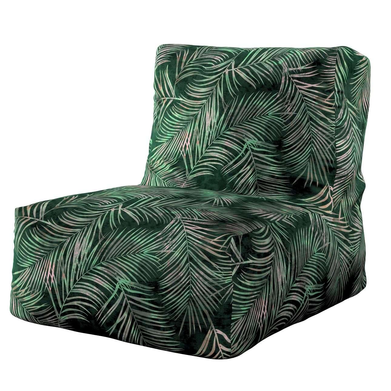Pufa- fotel w kolekcji Velvet, tkanina: 704-21