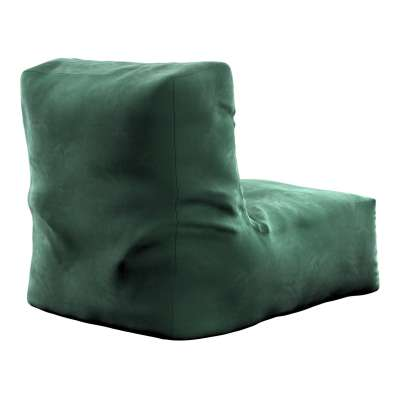 Sėdmaišis- fotelis  704-25 tamsi žalia Kolekcija Velvetas/Aksomas