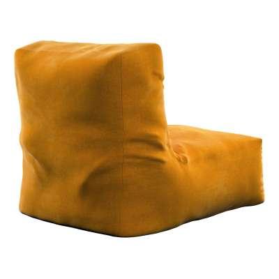 Poppy pouf-chair 704-23 mustard Collection Posh Velvet
