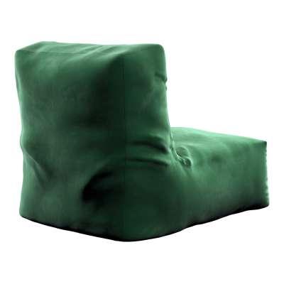 Pufo- fotel Poppy 704-13 butelkowa zieleń Kolekcja Posh Velvet