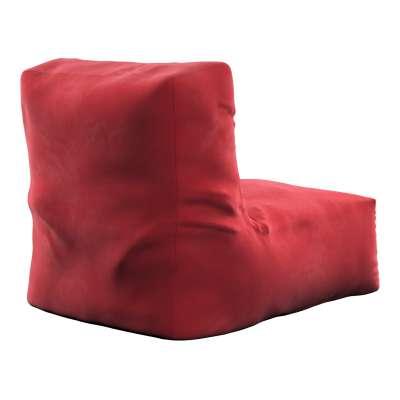 Puf-křeslo Poppy 704-15 intenzivní červená Kolekce Posh Velvet