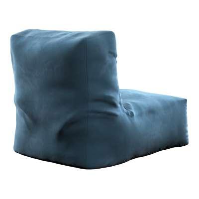 Puf-křeslo Poppy 704-16 pruská modř Kolekce Posh Velvet