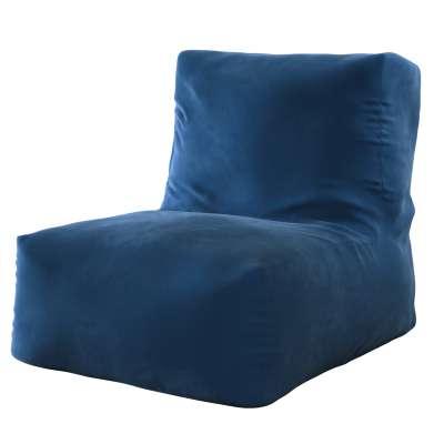 Poppy sėdmaišis - fotelis 704-29 tamsi mėlyna Kolekcija Posh Velvet