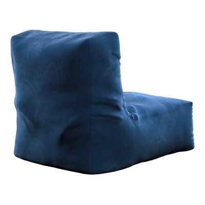 Puf-křeslo Poppy 704-29 námořnická modrá Kolekce Posh Velvet